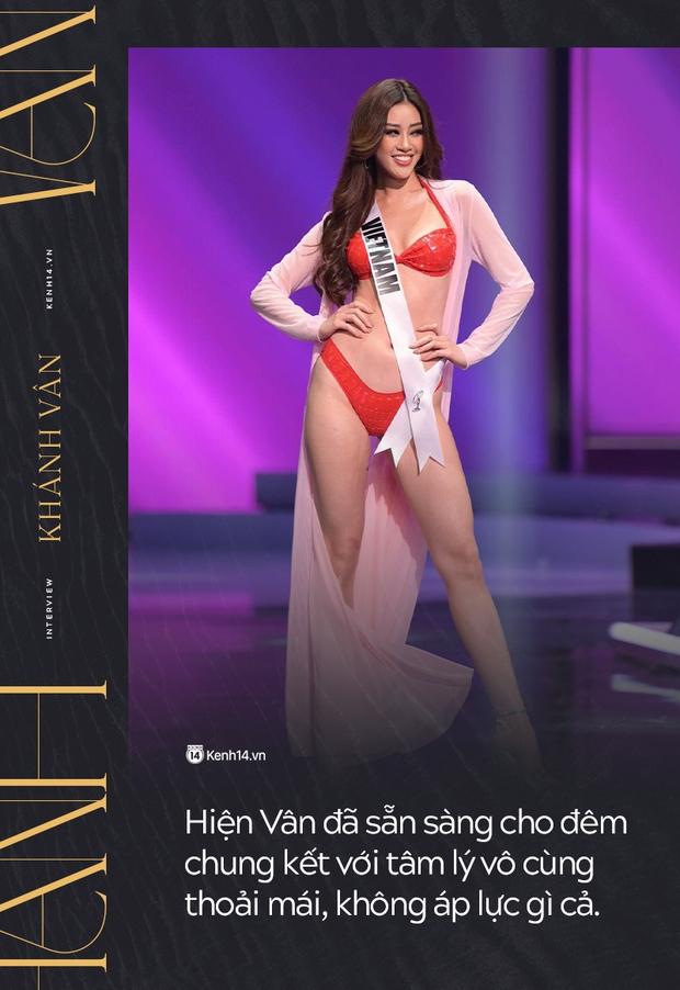 Phỏng vấn nóng phía Khánh Vân trước Chung kết Miss Universe: Em vẫn ổn, dù chân đau nhưng em vẫn chiến hết mình trên sân khấu - Ảnh 3.