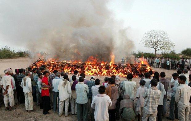 Thoát khỏi địa ngục trong gang tấc: Bệnh nhân Covid Ấn Độ tỉnh dậy chỉ vài phút trước khi bị hỏa thiêu - Ảnh 1.