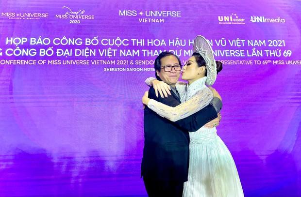 Nổ link tương tác 15 lần trong 24 giờ, bố Khánh Vân chính là fan cuồng đáng yêu nhất khi con gái chinh chiến tại Miss Universe - Ảnh 5.