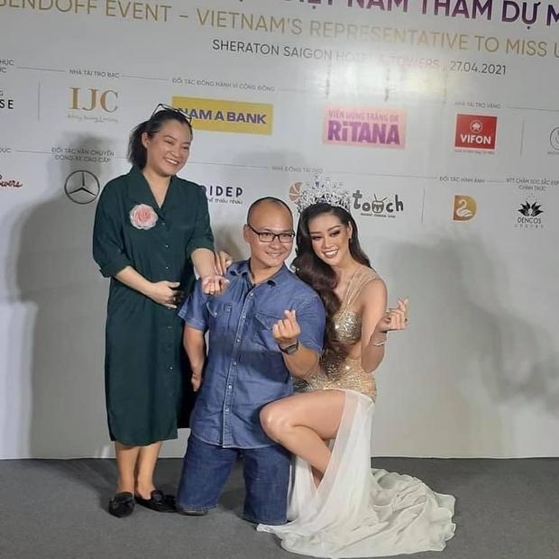 Ảnh hậu trường chưa từng công bố của Khánh Vân: Bật khóc đau đớn, lộ con người thật qua hành trình thi Miss Universe - Ảnh 8.