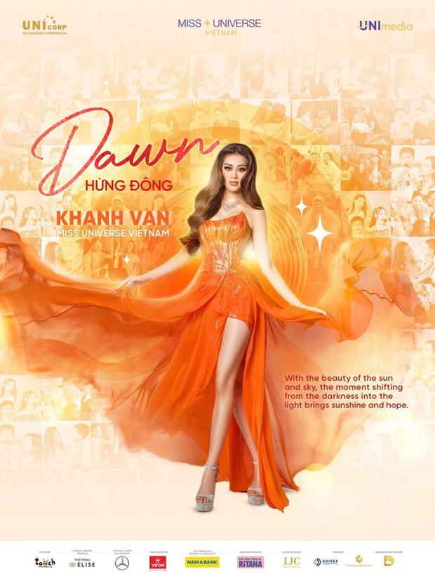 """Sự trùng hợp bất ngờ giữa đầm dạ hội của Khánh Vân ở Miss Universe Việt và Thế giới, """"điềm báo"""" đăng quang là đây? - Ảnh 4."""