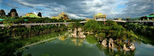 Số tiền gây choáng mà gia đình bà Phương Hằng đã bỏ ra để xây dựng khu du lịch Đại Nam, tiết lộ người đặc biệt lên ý tưởng và phối cảnh - Ảnh 1.