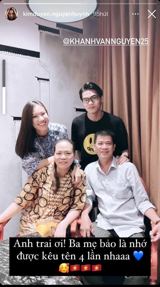 Gia đình và dàn sao Vbiz đồng lòng ủng hộ Khánh Vân trước Chung kết Miss Universe, nhuộm đỏ cả MXH bằng màu cờ Việt Nam - Ảnh 5.