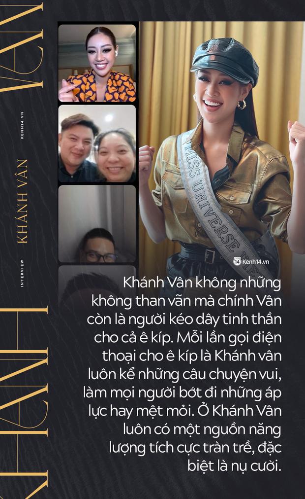 Phỏng vấn nóng phía Khánh Vân trước Chung kết Miss Universe: Em vẫn ổn, dù chân đau nhưng em vẫn chiến hết mình trên sân khấu - Ảnh 9.