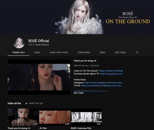 Rosé (BLACKPINK) chính thức tái xuất YouTube sau hơn 1 tháng bay màu vì... quên password, lập tức gây bão với visual đỉnh cao! - Ảnh 6.
