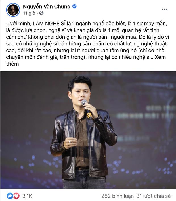 Chưa hết biến: Nhạc sĩ Nguyễn Văn Chung và Vy Oanh khẩu chiến gay gắt về quan điểm khán giả nuôi nghệ sĩ - Ảnh 2.