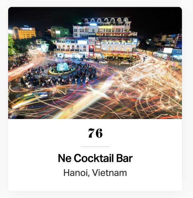 Việt Nam có tận 3 đại diện lọt top 100 quán bar TỐT NHẤT Châu Á, xem ảnh xong mới biết xịn xò cỡ nào! - Ảnh 2.