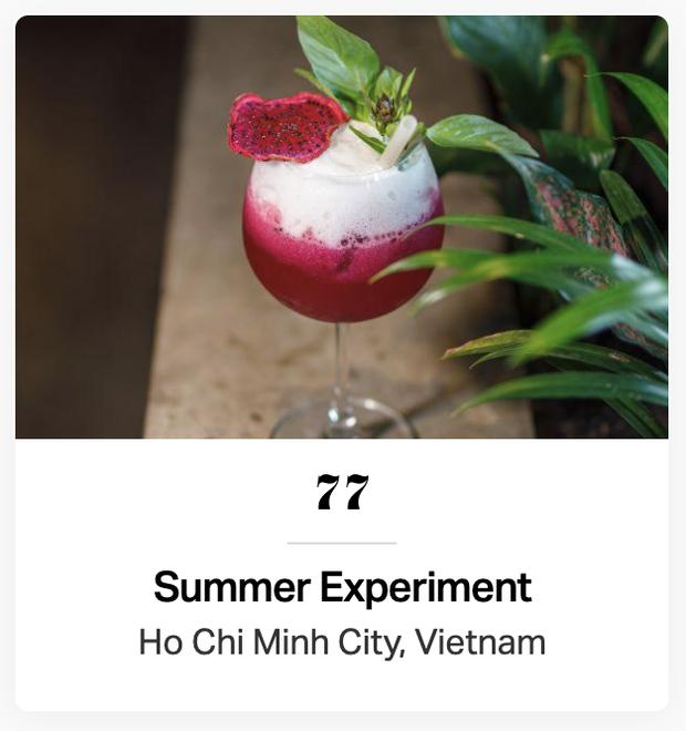 Việt Nam có tận 3 đại diện lọt top 100 quán bar TỐT NHẤT Châu Á, xem ảnh xong mới biết xịn xò cỡ nào! - Ảnh 5.