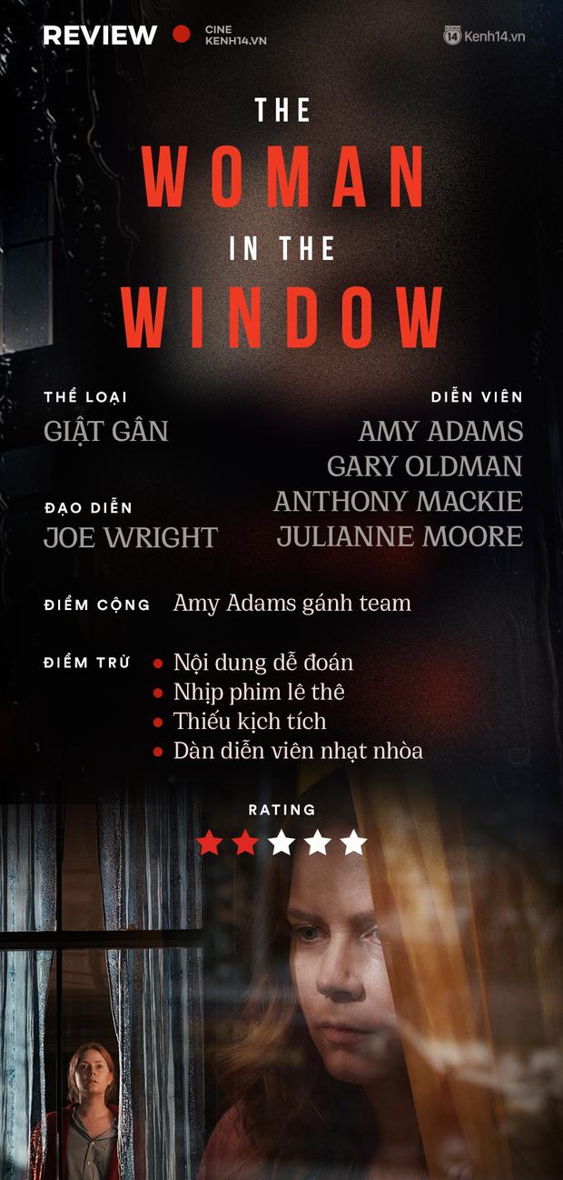 The Woman In The Window: Bộ phim nhạt nhẽo này không đáng để bạn lãng phí thời gian! - Ảnh 14.