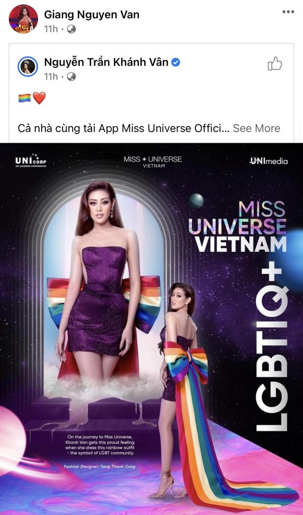 Nổ link tương tác 15 lần trong 24 giờ, bố Khánh Vân chính là fan cuồng đáng yêu nhất khi con gái chinh chiến tại Miss Universe - Ảnh 4.