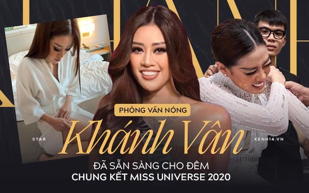 Phỏng vấn nóng phía Khánh Vân trước Chung kết Miss Universe: Em vẫn ổn, dù chân đau nhưng em vẫn chiến hết mình trên sân khấu - Ảnh 2.