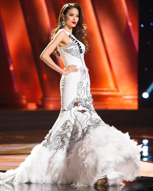 Phạm Hương - HHen Niê - Khánh Vân: 3 lần khiến fan sắc đẹp dậy sóng tại Miss Universe - Ảnh 5.