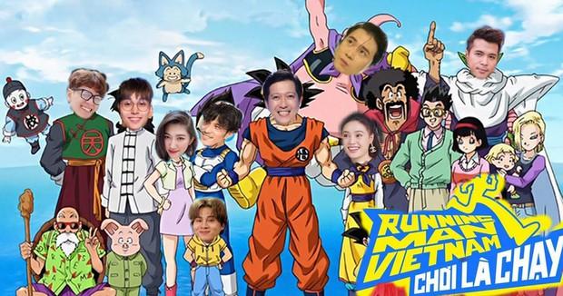 Fan Running Man Việt thi chế meme style anime cưng muốn xỉu: Doraemon, Naruto, One Piece đều có đủ! - Ảnh 1.