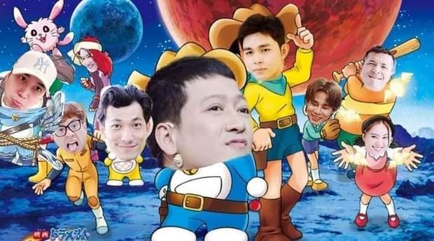 Fan Running Man Việt thi chế meme style anime cưng muốn xỉu: Doraemon, Naruto, One Piece đều có đủ! - Ảnh 4.