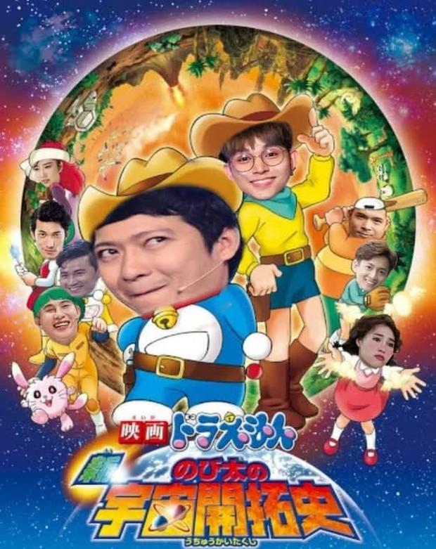 Fan Running Man Việt thi chế meme style anime cưng muốn xỉu: Doraemon, Naruto, One Piece đều có đủ! - Ảnh 5.