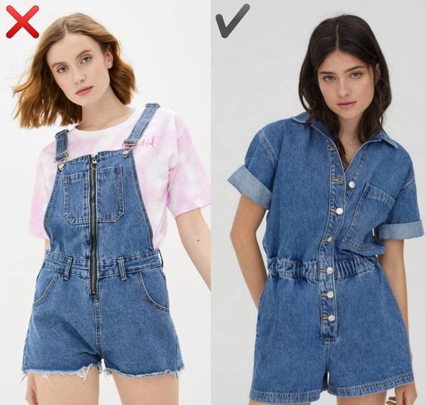 """6 kiểu quần short jeans """"đánh tụt"""" style của bạn xuống mức thảm họa - Ảnh 7."""