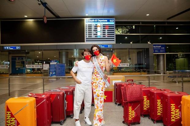 Khánh Vân đi thi Miss Universe với tủ đồ toàn NTK lạ hoắc nhưng chất lượng thì miễn chê! - Ảnh 5.