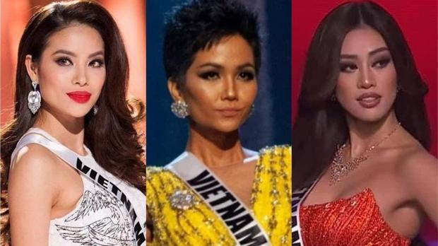 Phạm Hương - HHen Niê - Khánh Vân: 3 lần khiến fan sắc đẹp dậy sóng tại Miss Universe - Ảnh 1.