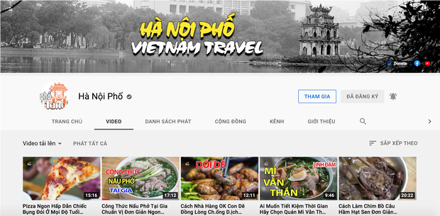Duy Nến bất ngờ cảm ơn VTV vì xoá clip rác mạng nói về kênh Hà Nội Phố, cố đổi tên YouTube của mình lại như cũ - Ảnh 3.