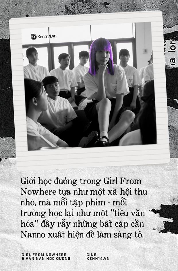 Girl From Nowhere: Khi những góc khuất tàn khốc vẫn hiện diện trong trường học được phơi bày  - Ảnh 3.