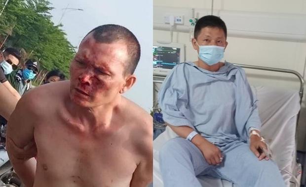 Lời khai của đối tượng truy nã đâm tài xế taxi ở khu đô thị Thanh Hà - Ảnh 1.