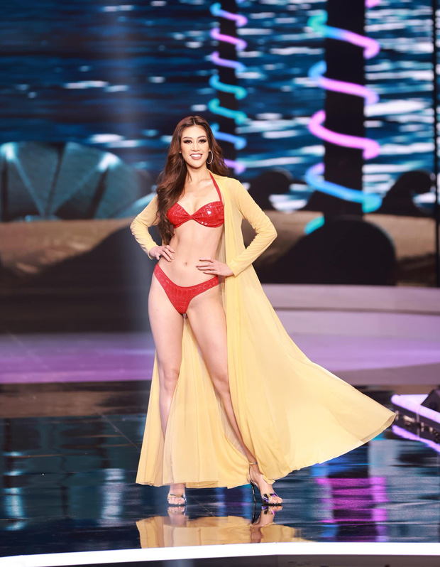 Nhìn lại visual của Khánh Vân trong đêm Chung kết Miss Universe: Đỉnh chóp thế này mà dừng chân ở top 21 quá phí! - Ảnh 10.