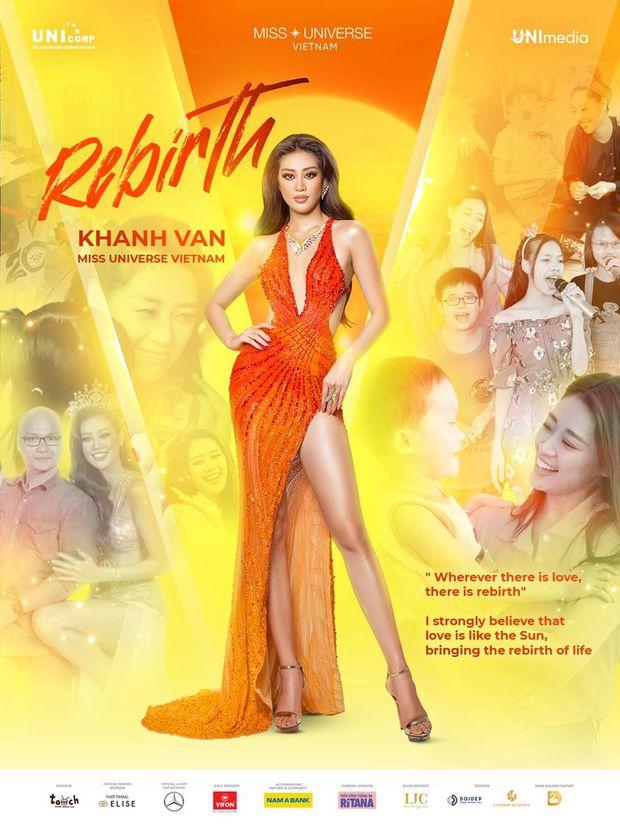 HÓNG: Khánh Vân diện váy của NTK đã từng thiết kế cho Hoa hậu Hoàn vũ 2016 đêm đăng quang, điều kỳ diệu có tiếp tục xảy ra? - Ảnh 1.