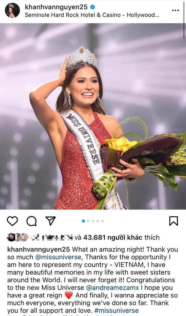 Khánh Vân ghi trọn điểm 10 dù dừng chân ở Top 21, H'Hen Niê cũng được khen vì có hành động đẹp với tân Hoa hậu - Ảnh 2.
