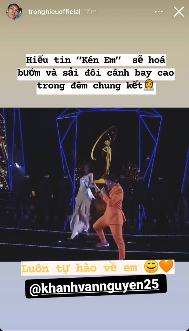 Gia đình và dàn sao Vbiz đồng lòng ủng hộ Khánh Vân trước Chung kết Miss Universe, nhuộm đỏ cả MXH bằng màu cờ Việt Nam - Ảnh 7.
