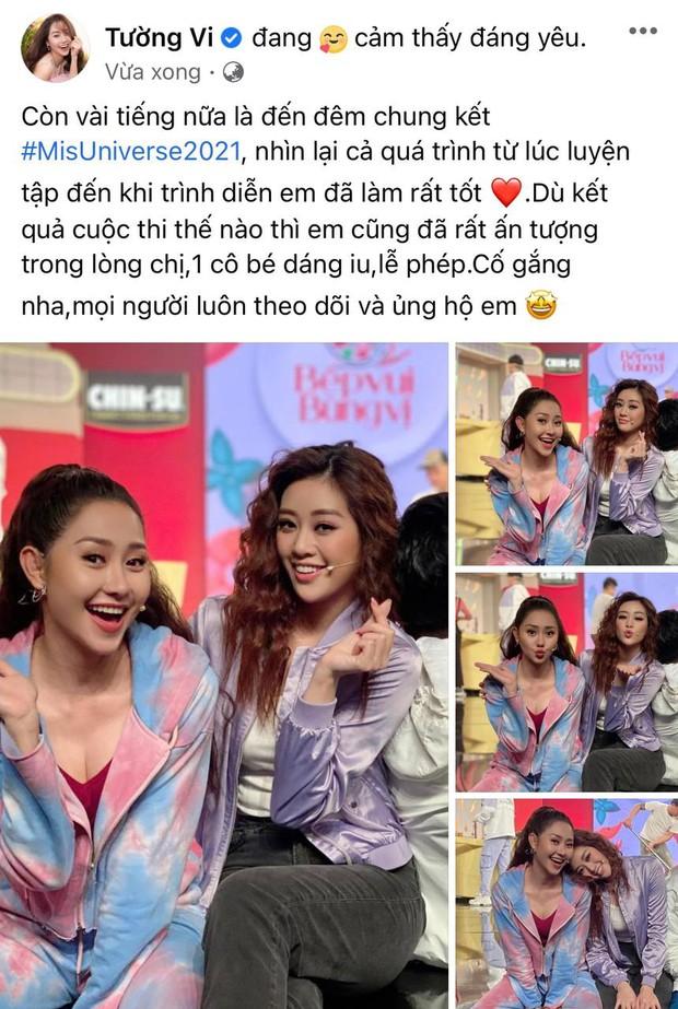 Gia đình và dàn sao Vbiz đồng lòng ủng hộ Khánh Vân trước Chung kết Miss Universe, nhuộm đỏ cả MXH bằng màu cờ Việt Nam - Ảnh 8.