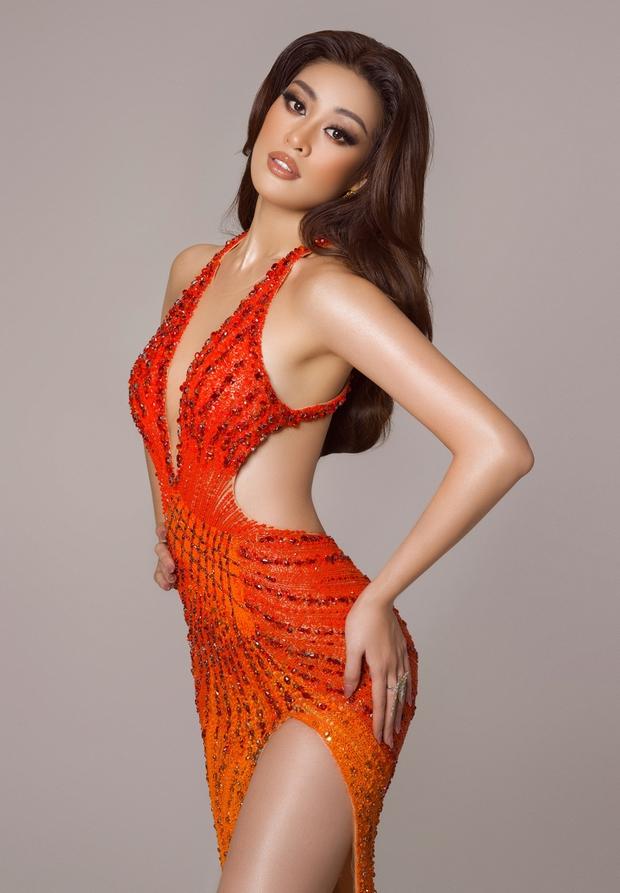 Cận cảnh trang phục dạ hội Khánh Vân chuẩn bị nhưng không được diện lên sân khấu Chung kết Miss Universe 2020 - Ảnh 4.