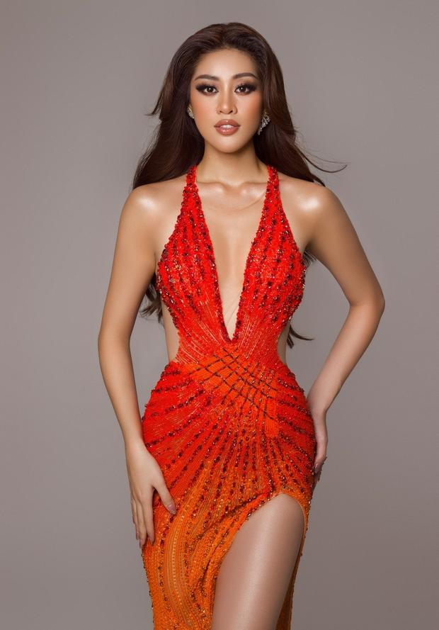 Cận cảnh trang phục dạ hội Khánh Vân chuẩn bị nhưng không được diện lên sân khấu Chung kết Miss Universe 2020 - Ảnh 10.