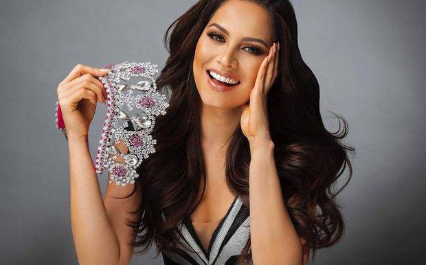 Hot nhất đêm Chung kết Miss Universe là biểu cảm khó ở của Hoa hậu Hoàn vũ 2012 khi đại diện Mexico chiến thắng - Ảnh 3.