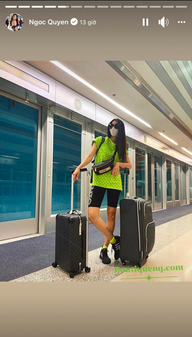 Lộ diện sao Việt đầu tiên trực tiếp có mặt tại Chung kết Miss Universe ở Mỹ để cổ vũ cho Khánh Vân - Ảnh 2.
