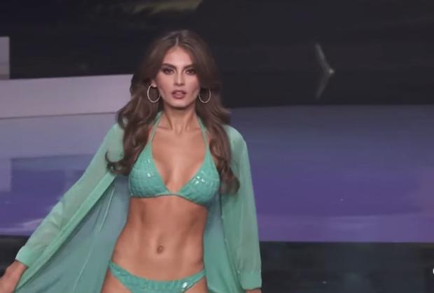 Mãn nhãn trước màn trình diễn bikini của top 21 Miss Universe: Khánh Vân bùng nổ visual, chỉ thiếu chút may mắn thôi! - Ảnh 15.