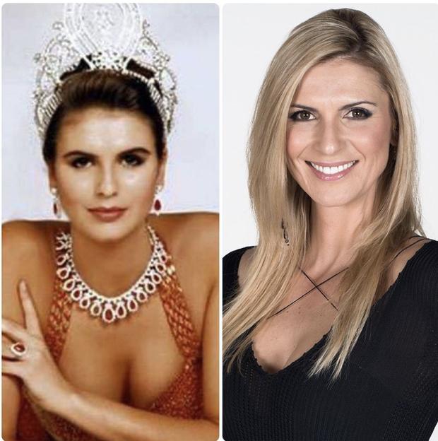 5 nàng hậu Miss Universe hội tụ tạo ra khung hình toàn đệ nhất mỹ nhân: Ai cũng visual đỉnh chóp, khó lòng phân thắng bại - Ảnh 3.