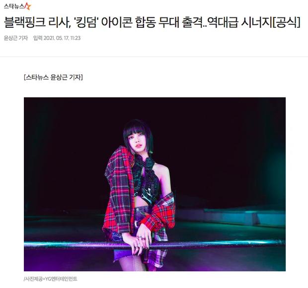 YG hờn dỗi ấn định ngày Lisa xuất hiện tại show Mnet, netizen hụt hẫng vì là sân khấu gián tiếp? - Ảnh 1.