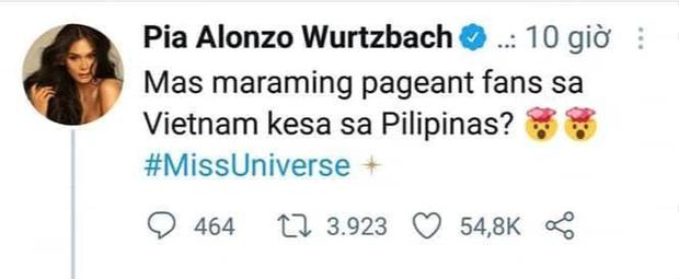 Cùng là Miss Universe người Philippines nhưng Catriona Gray lại ghi điểm với fan Việt hơn hẳn Pia Wurtzbach! - Ảnh 1.
