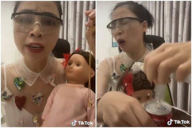 Thơ Nguyễn phụng phịu dỗi vì làm video búp bê theo yêu cầu của khán giả nhưng đăng lên không ai xem - Ảnh 1.