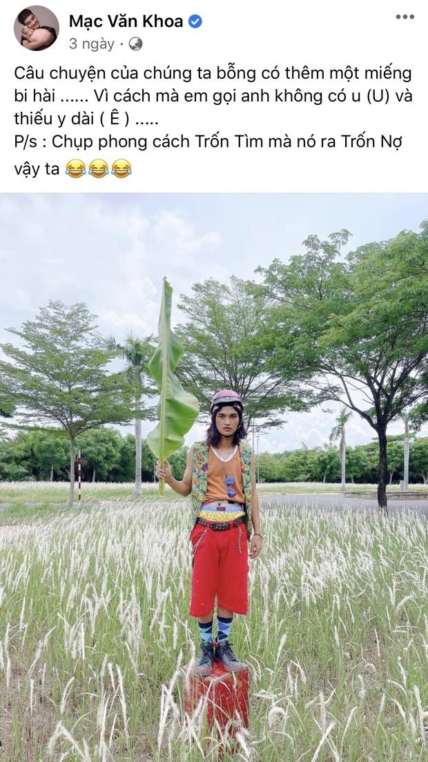 Góc trốn tìm: Mạc Văn Khoa, chị cà khịa của VTV cosplay thân cây Đen Vâu, dân tình cũng đua nhau bắt trend - Ảnh 2.