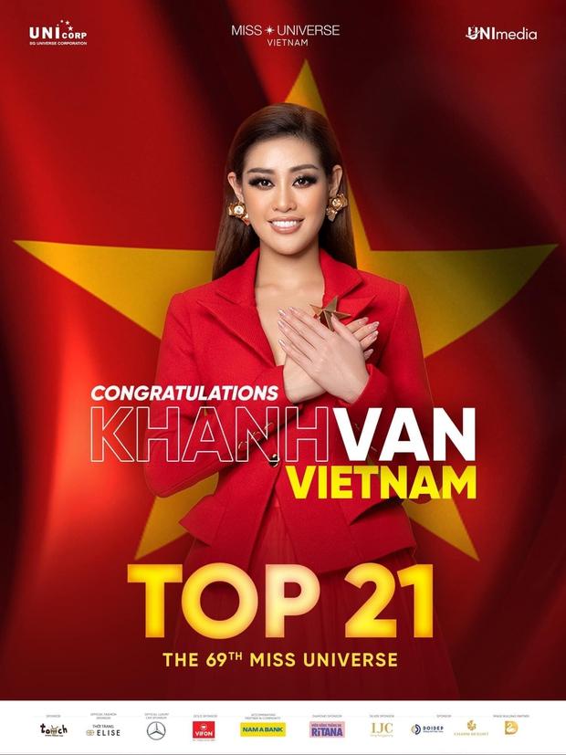 Khánh Vân chính thức nằm trong top 21 Miss Universe 2020! - Ảnh 2.