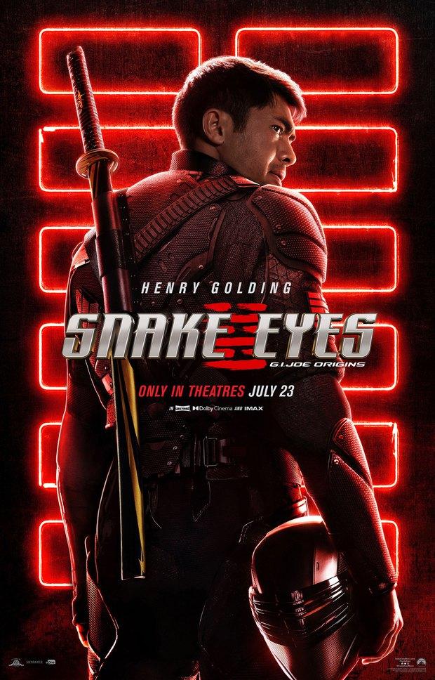 Mỹ nam châu Á Henry Golding hóa chiến binh ninja, đấu kiếm mà bùng nổ visual trong trailer Snake Eyes - Ảnh 4.