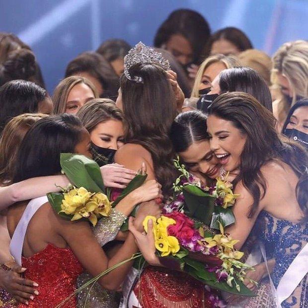 5 nàng hậu Miss Universe hội tụ tạo ra khung hình toàn đệ nhất mỹ nhân: Ai cũng visual đỉnh chóp, khó lòng phân thắng bại - Ảnh 9.