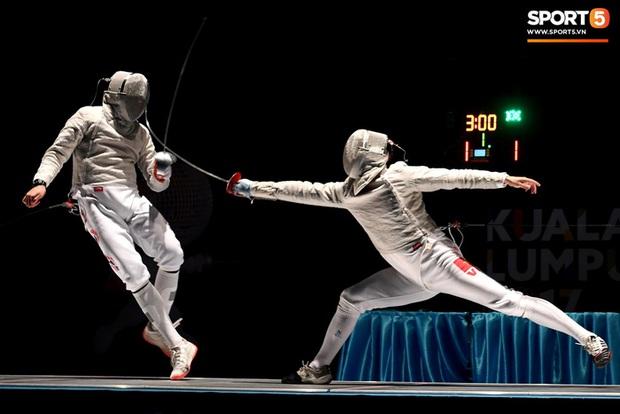 VĐV đấu kiếm Việt Nam mắc Covid-19 sau khi dự vòng loại Olympic - Ảnh 1.