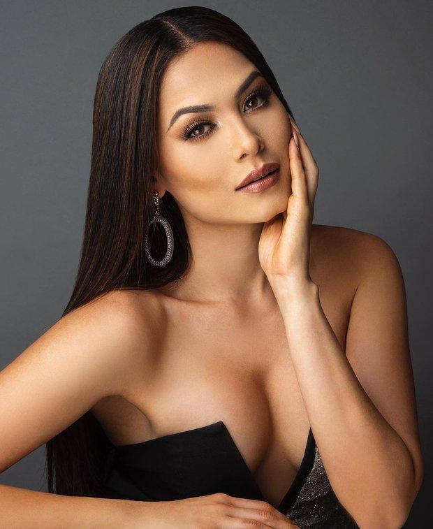 Nhan sắc khác một trời một vực của Miss Universe 2020 khi chuyển từ makeup đậm sang nhạt hơn - Ảnh 6.