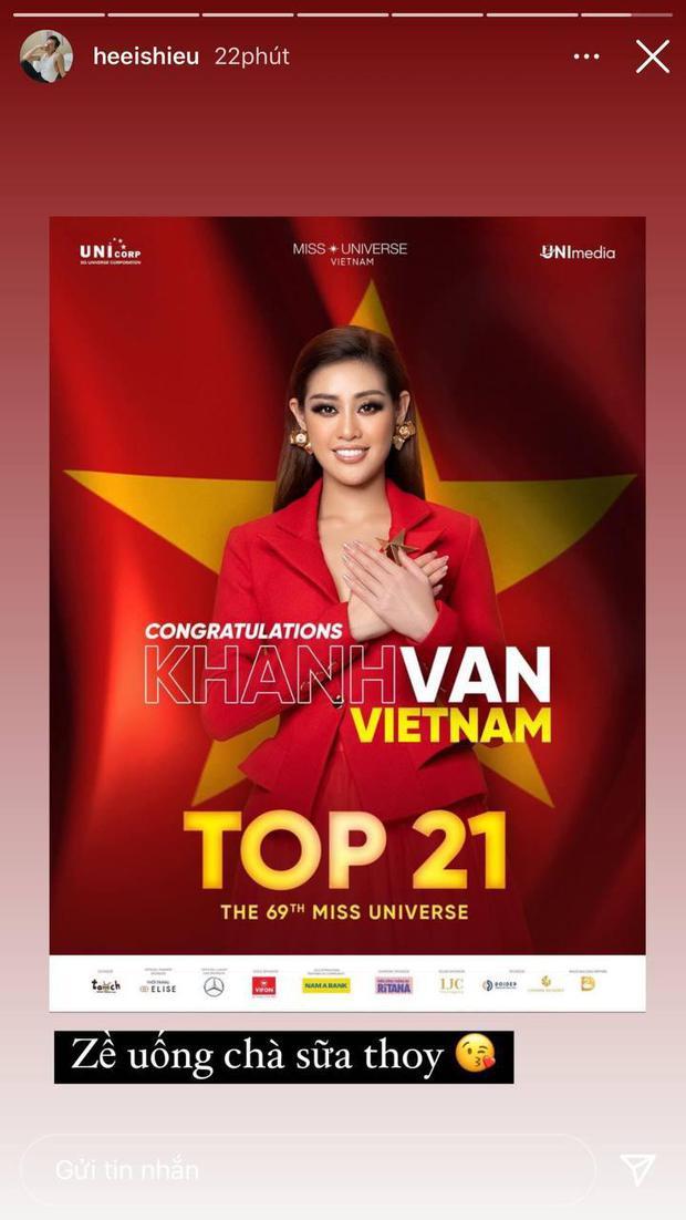 Khánh Vân lọt top 21 Miss Universe 2020, em trai nhắn gửi đúng 5 chữ nhưng đi vào lòng người - Ảnh 2.