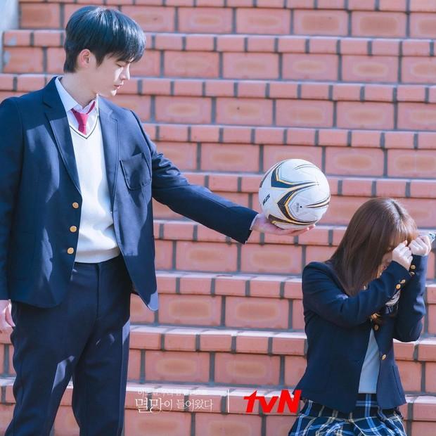 Vẫn biết Park Bo Young hack tuổi thần sầu, nhưng U35 mà mặc đồng phục học sinh trông như 15 tuổi thế này ai đọ lại? - Ảnh 3.