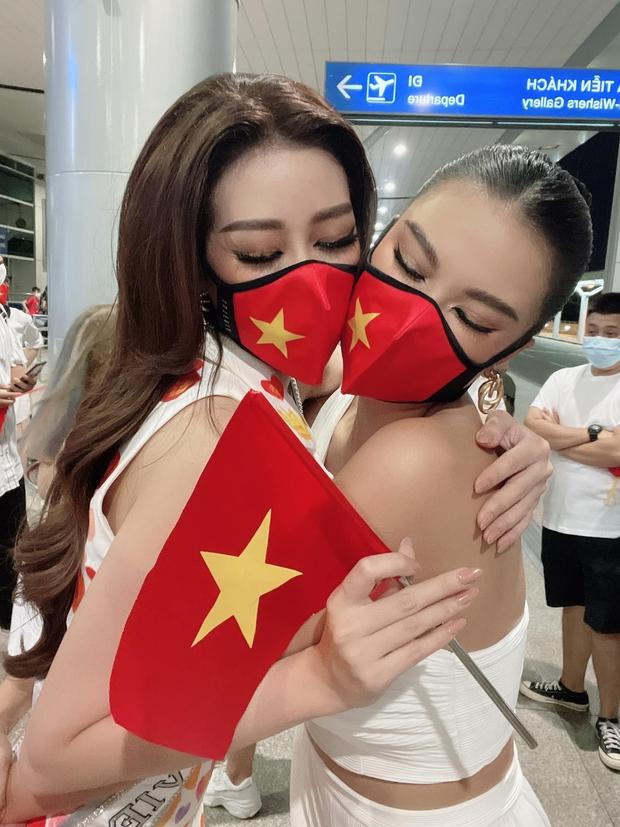 Khánh Vân chưa về nước, Kim Duyên đã tung bộ ảnh nóng hừng hực bắt đầu đường đua đến Miss Universe 2021 - Ảnh 13.
