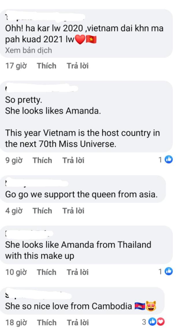 Hé lộ 4 đối thủ đầu tiên của đại diện Việt Nam ở Miss Universe 2021, Kim Duyên nhận được phản ứng bất ngờ từ fan quốc tế - Ảnh 9.