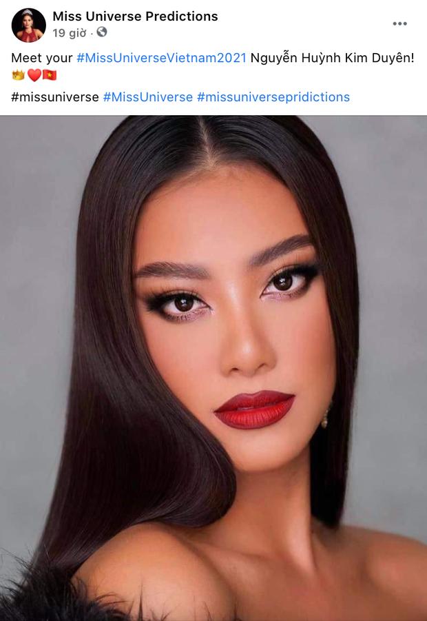 Hé lộ 4 đối thủ đầu tiên của đại diện Việt Nam ở Miss Universe 2021, Kim Duyên nhận được phản ứng bất ngờ từ fan quốc tế - Ảnh 8.